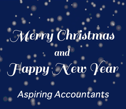 Merry Christmas 2017 from Aspiring Accountants