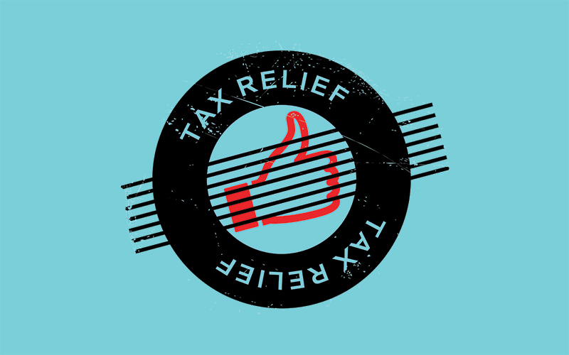 Tax relief symbol - roll-over relief